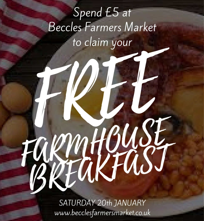 Farmhouse Breakfast Special! – 20th Jan
